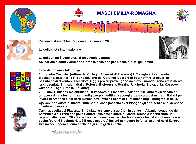 MASCI EMILIA-ROMAGNA Rimini: incontro di Zona MASCI 6 dicembre 2008 Prof. Michele La Rosa (ordinario di Sociologia del lavoro presso lUniversità di Bo