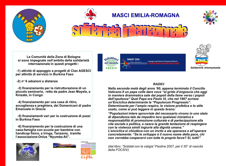 MASCI EMILIA-ROMAGNA W LA GENTE! LE STRADE DELLA SOLIDARIETA Forlì, 30 maggio 2009 Le testimonianze: Sauro 1) Sauro (presidente Caritas diocesi Forlì-