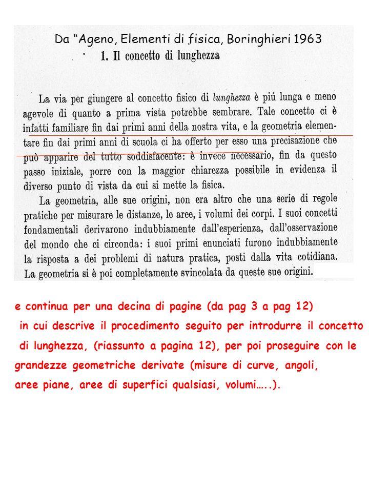 Da Ageno, Elementi di fisica, Boringhieri 1963 e continua per una decina di pagine (da pag 3 a pag 12) in cui descrive il procedimento seguito per int