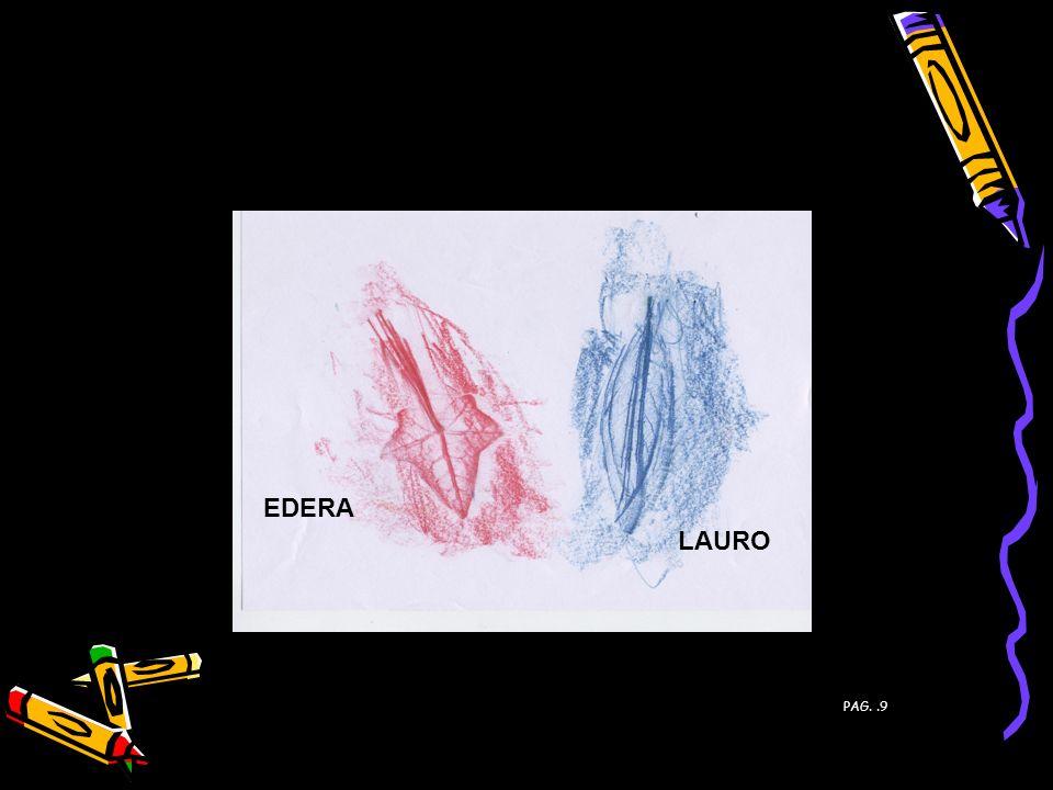 FOGLIE DI: PAG. 9 EDERA LAURO PAG..9