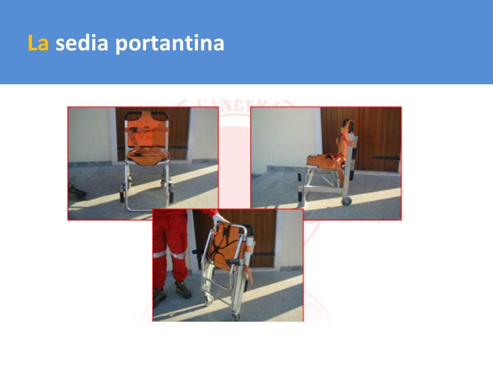 Il trasporto del carico La sedia portantina