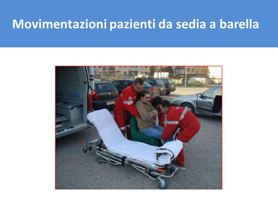 Il trasporto del carico Movimentazioni pazienti da sedia a barella