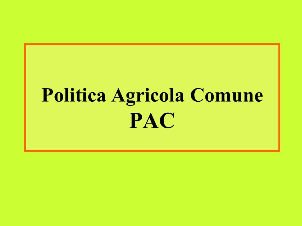 Politica Agricola Comune PAC