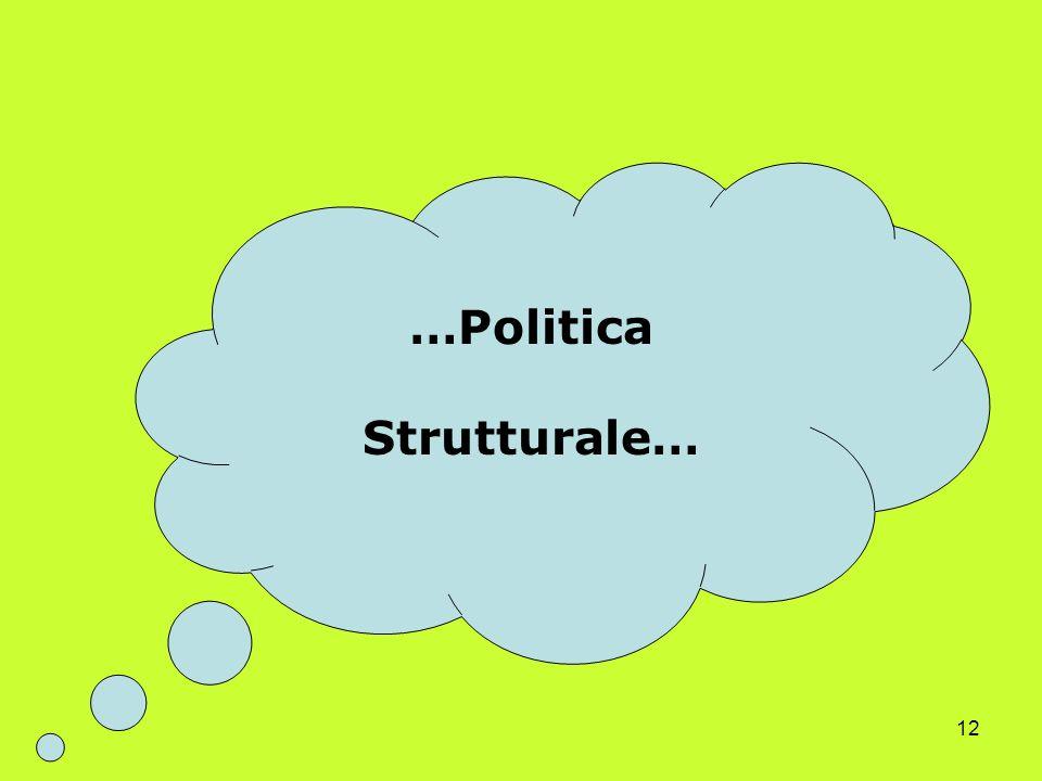 12 …Politica Strutturale…