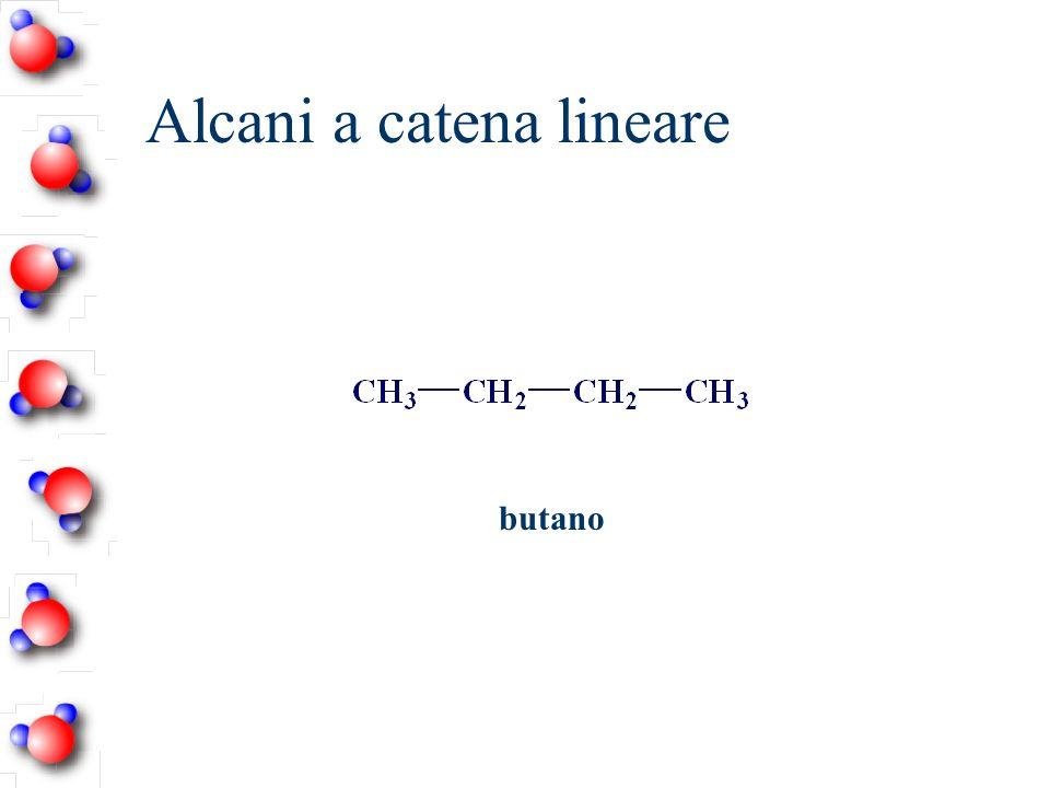 Alcani a catena lineare butano