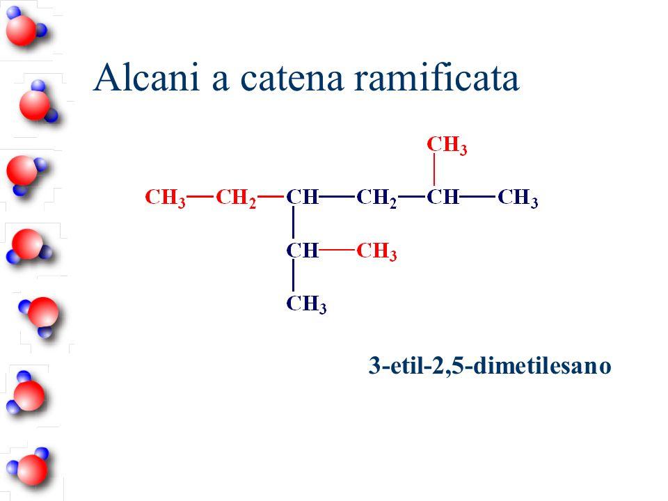 Alcani a catena ramificata 3-etil-2,5-dimetilesano