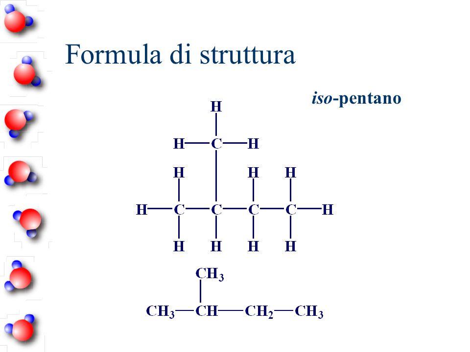 Formula di struttura iso-pentano