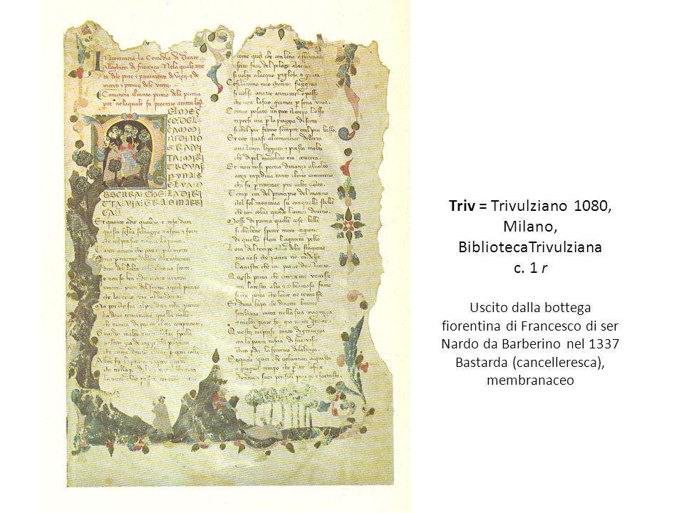 Triv = Trivulziano 1080, Milano, BibliotecaTrivulziana c.
