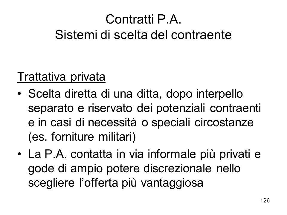 126 Contratti P.A.