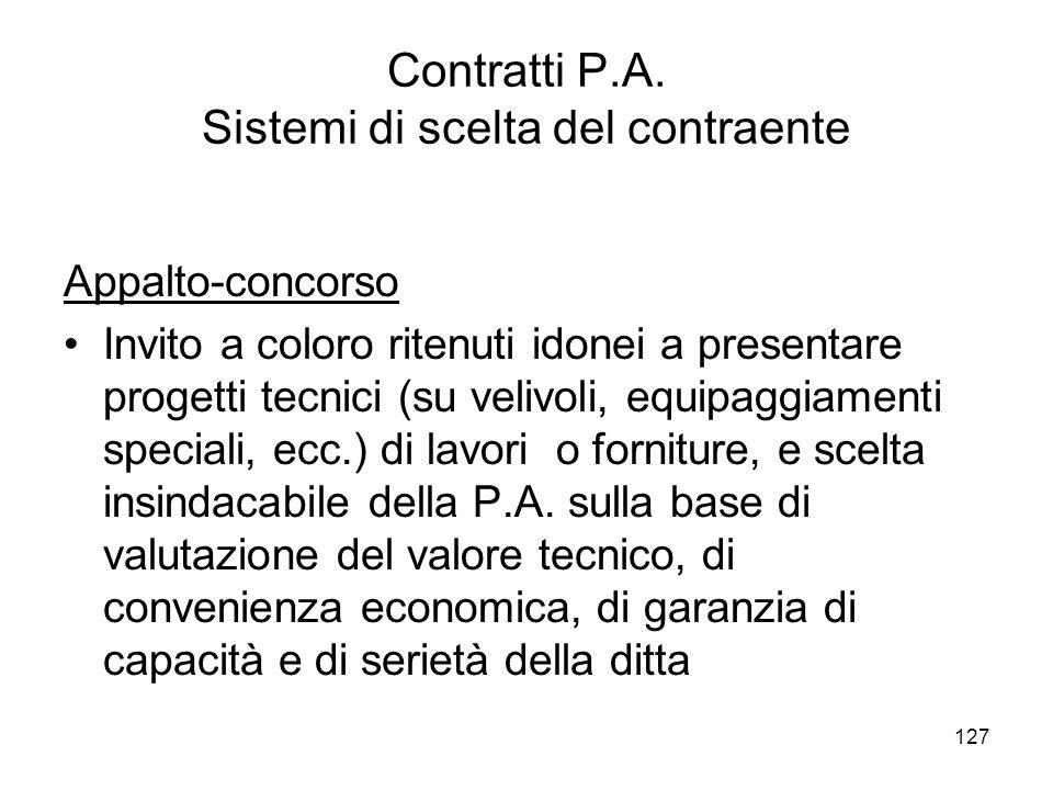 127 Contratti P.A.