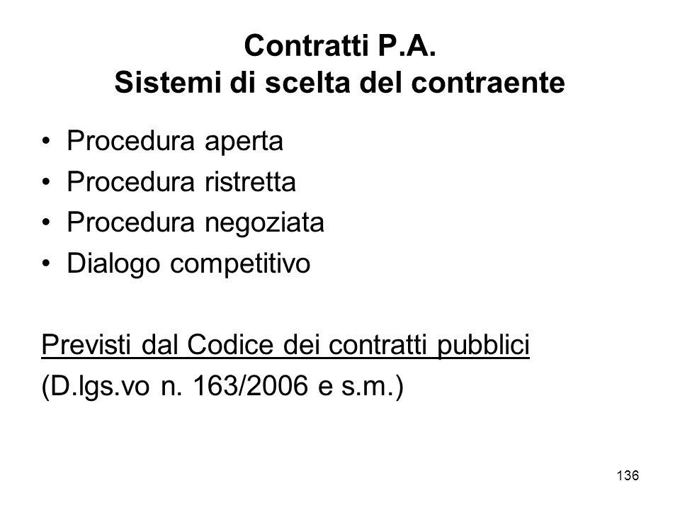 136 Contratti P.A.