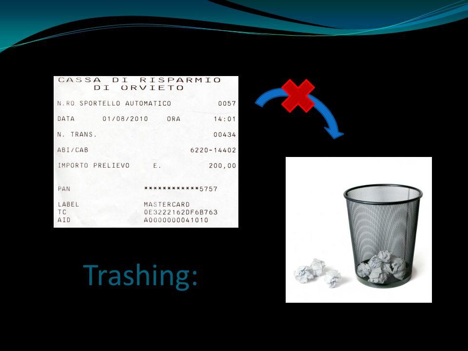 Trashing: