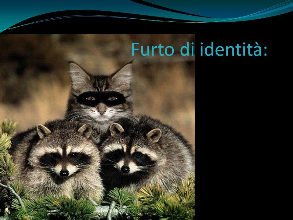 Furto di identità: