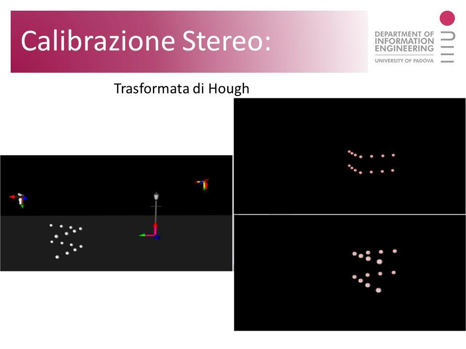 Trasformata di Hough Calibrazione Stereo: