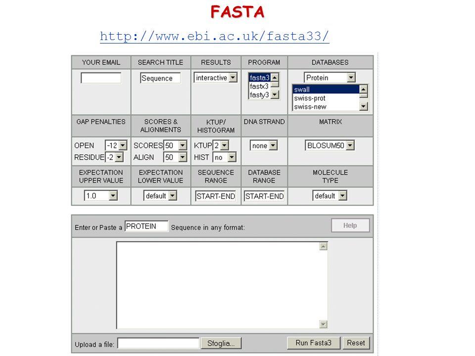 http://www.ebi.ac.uk/fasta33/FASTA