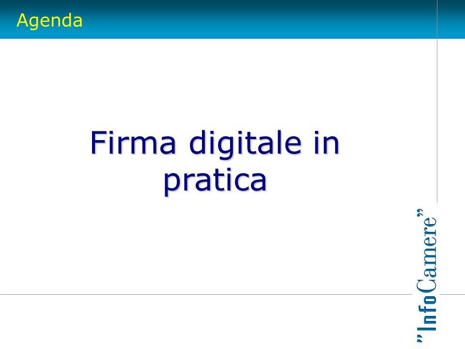 Agenda Firma digitale in pratica