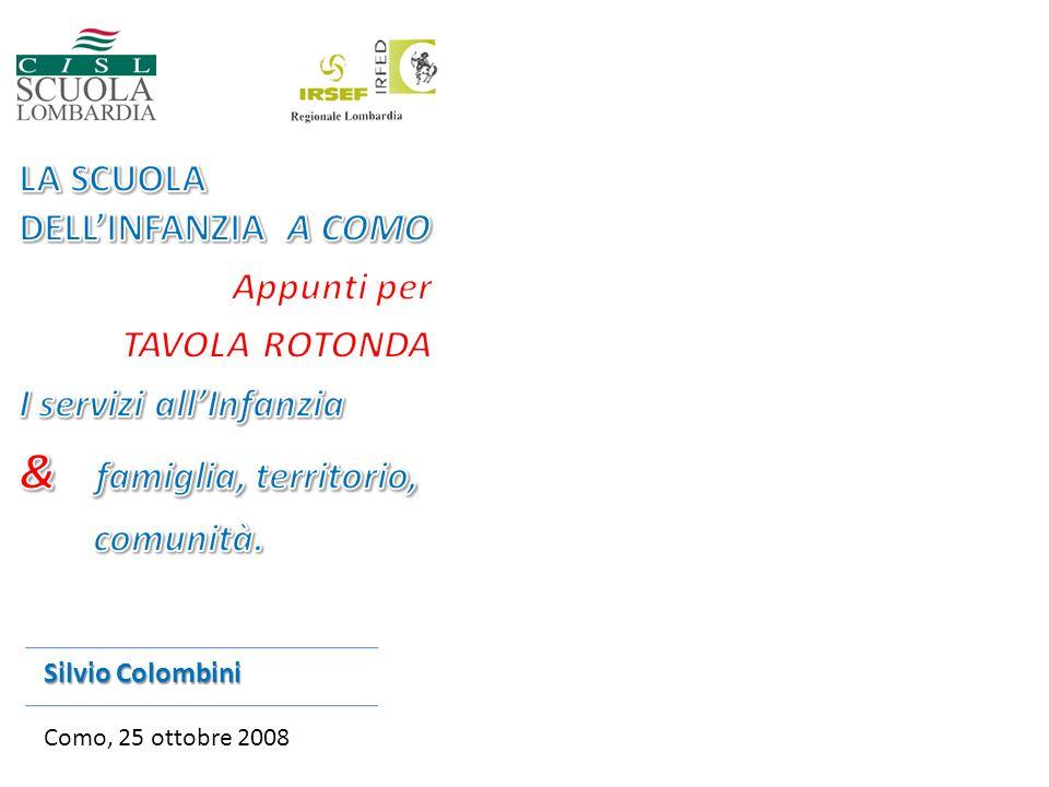 Silvio Colombini Como, 25 ottobre 2008