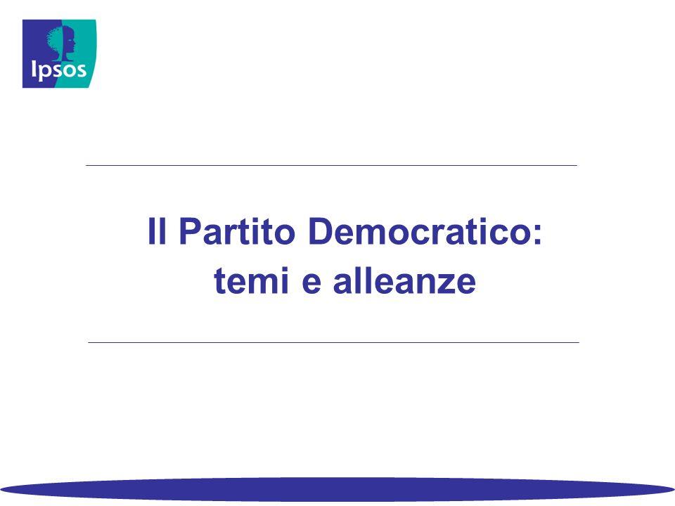Il Partito Democratico: temi e alleanze