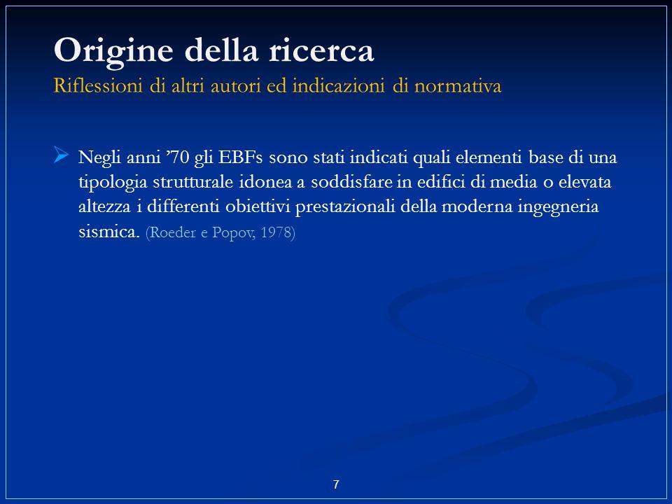 8 Obiettivi di progetto (Eurocodice 8, 2003) LIVELLO DI CARICO LIVELLI DI PRESTAZIONE SISMI DI MODERATA INTENSITÀ LIMITATO DANNEGGIAMENTO SISMI DI ELEVATA INTENSITÀ NON COLLASSO RIGIDEZZA RESISTENZA DUTTILITÀ RESISTENZA PROPRIETÀ RICHIESTE