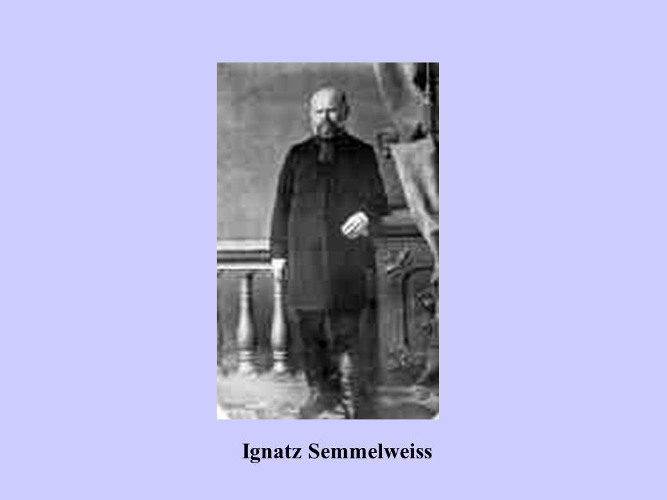 I precursori Ignatz Semmelweiss