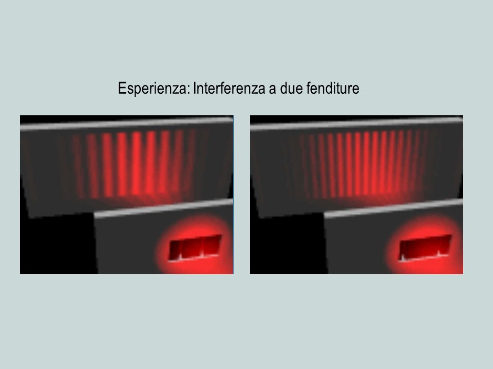 = 520 nm = c / = 5.8 x 10 14 Hz V = 496 mV Frequenza (x 10 14 Hz) Potenziale (mV)