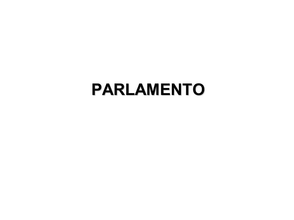 Struttura ed organizzazione Due Camere: Camera dei Deputati Senato della Repubblica Bicameralismo perfetto = Camera e Senato hanno le stesse funzioni e uguali poteri