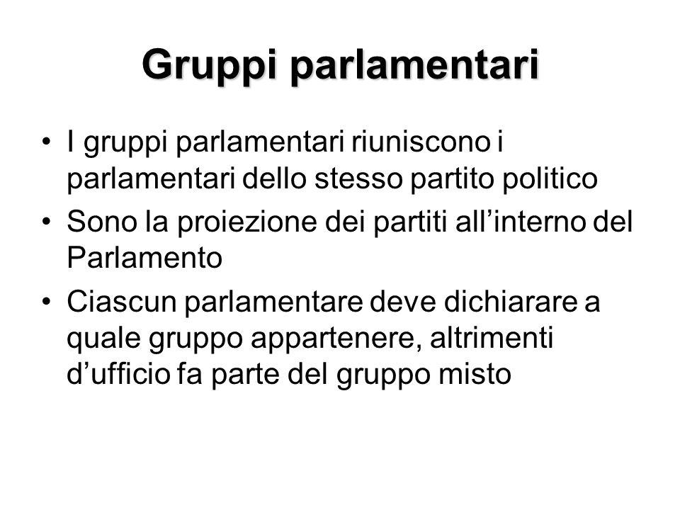 Commissioni parlamentari 1.