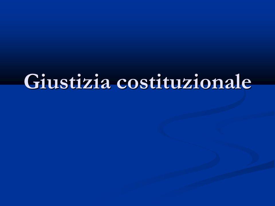 Parametro del giudizio Costituzione e leggi costituzionali (ove previste) Costituzione e leggi costituzionali (ove previste) Principi supremi dellordinamento costituzionale Principi supremi dellordinamento costituzionale Trattati internazionali (laddove è prevista la loro superiorità rispetto al diritto interno) Trattati internazionali (laddove è prevista la loro superiorità rispetto al diritto interno) Norme interposte Norme interposte Leggi organiche Leggi organiche Talune leggi ordinarie (leggi-delega, legislazione di principio) Talune leggi ordinarie (leggi-delega, legislazione di principio) Regolamenti parlamentari > procedimento legislativo Regolamenti parlamentari > procedimento legislativo
