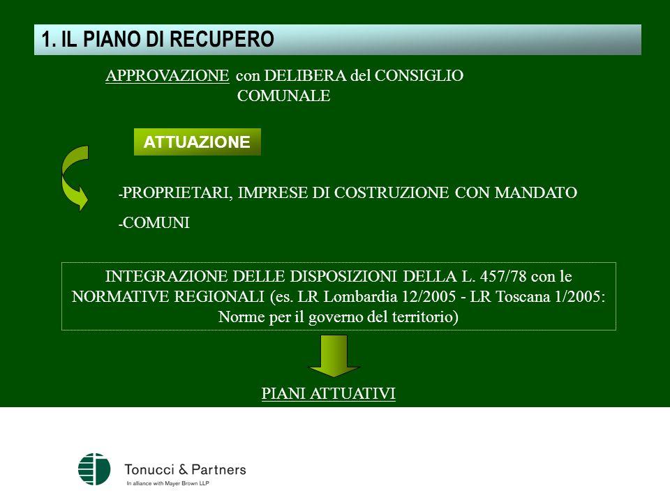 - PROPRIETARI, IMPRESE DI COSTRUZIONE CON MANDATO - COMUNI INTEGRAZIONE DELLE DISPOSIZIONI DELLA L. 457/78 con le NORMATIVE REGIONALI (es. LR Lombardi