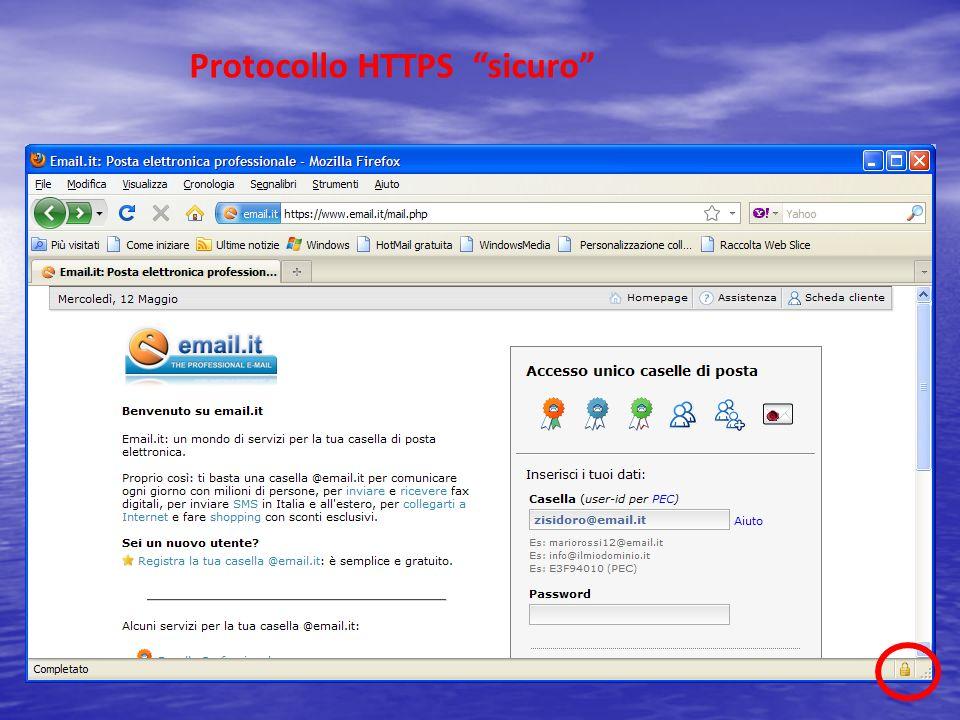 Protocollo HTTPS sicuro