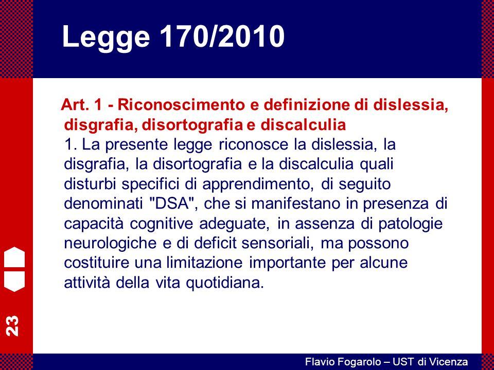 23 Flavio Fogarolo – UST di Vicenza Art.