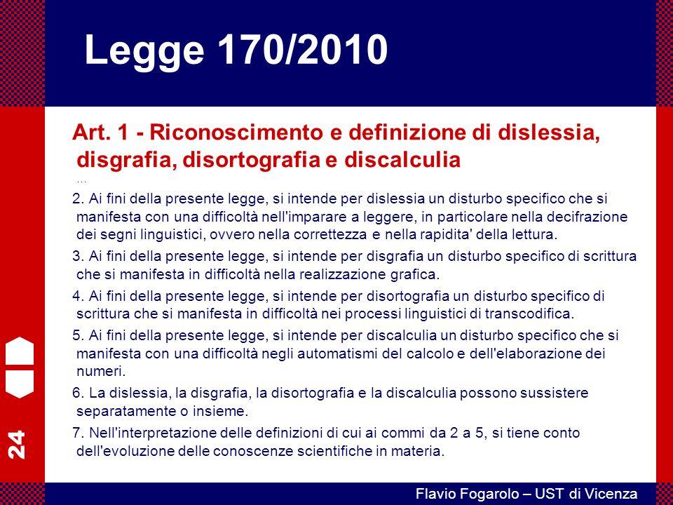24 Flavio Fogarolo – UST di Vicenza Art.