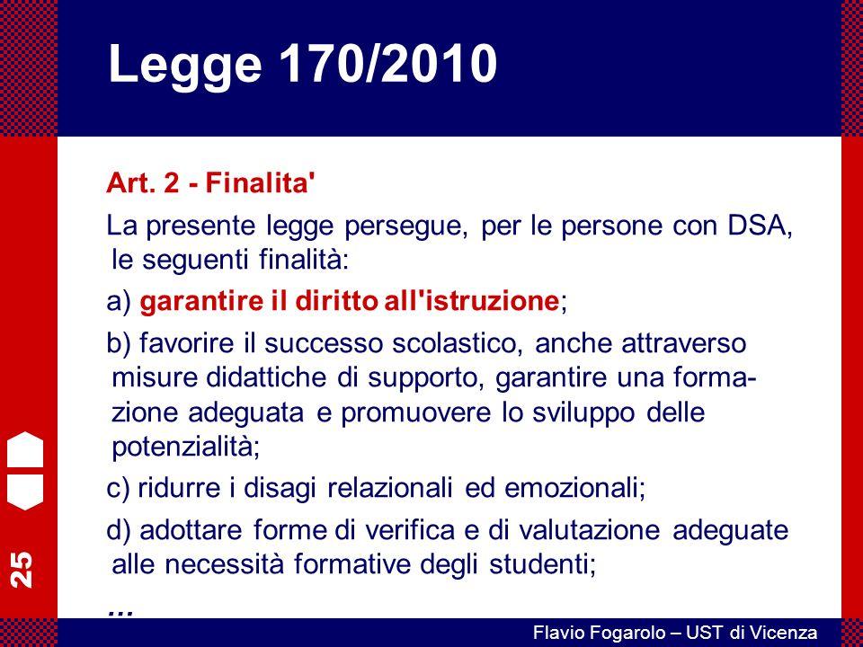 25 Flavio Fogarolo – UST di Vicenza Art.