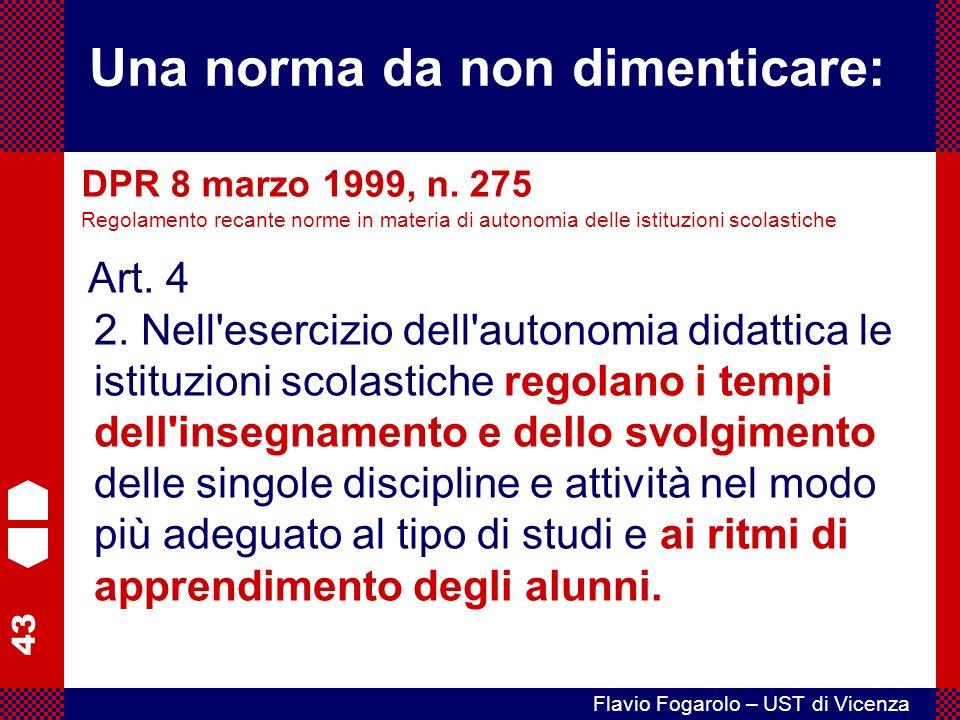 43 Flavio Fogarolo – UST di Vicenza Art.4 2.