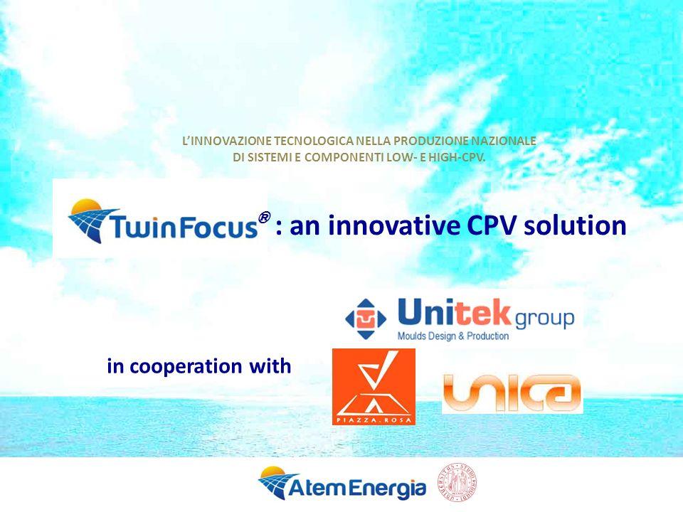 12 TwinFocus ® field measurements Typical efficiency is 24%.