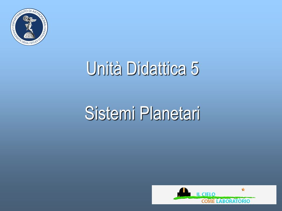 Proprietà del Sistema Solare Le orbite dei pianeti giacciono tutte sullo stesso piano con piccole deviazioni, in particolare del pianeta più vicino al Sole, Mercurio.