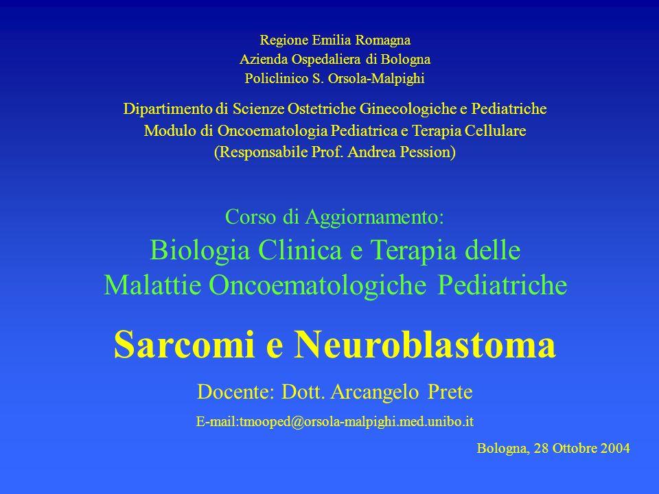 Regione Emilia Romagna Azienda Ospedaliera di Bologna Policlinico S. Orsola-Malpighi Dipartimento di Scienze Ostetriche Ginecologiche e Pediatriche Mo
