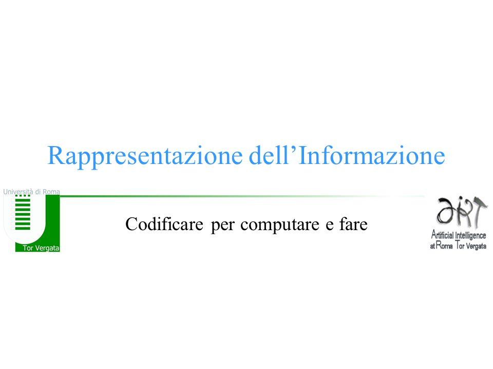 © F.M.Zanzotto Rappresentazione di numeri razionali Virgola fissa Numeri Razionali - modulo e segno –Qual è la distanza tra due numeri razionali rappresentati.