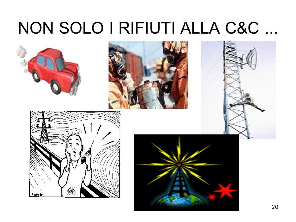 20 NON SOLO I RIFIUTI ALLA C&C...
