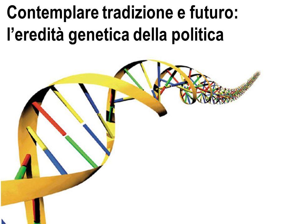 Contemplare tradizione e futuro: leredità genetica della politica