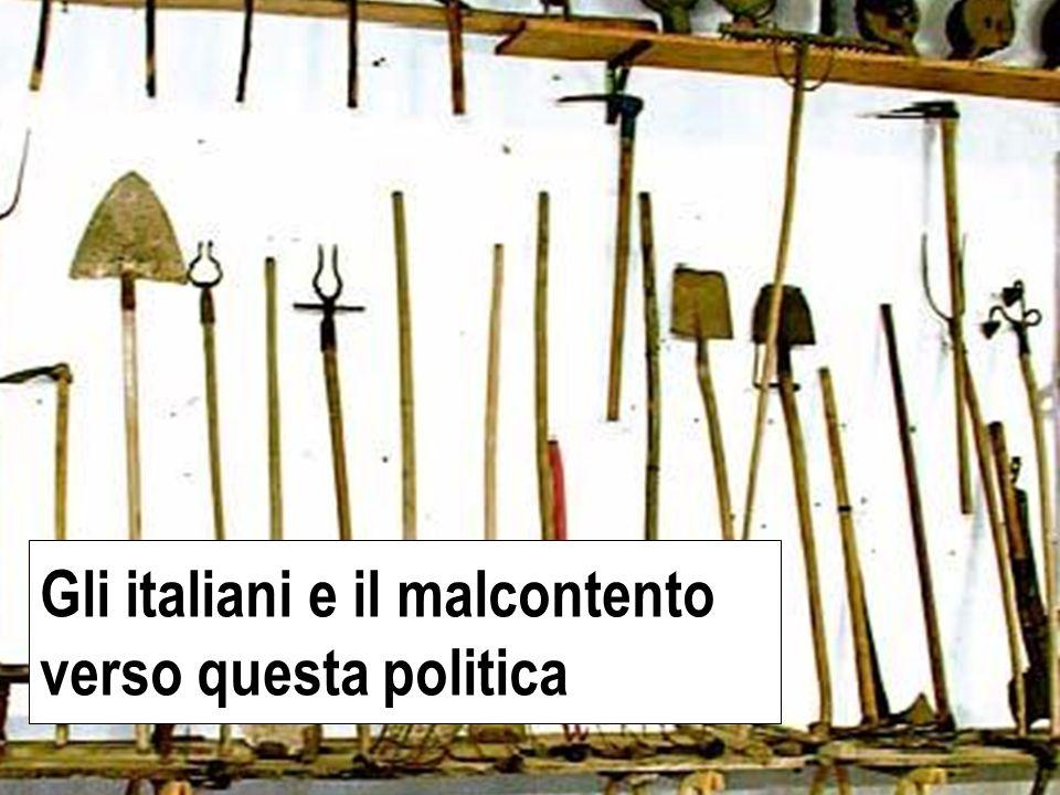 copertina Gli italiani e il malcontento verso questa politica