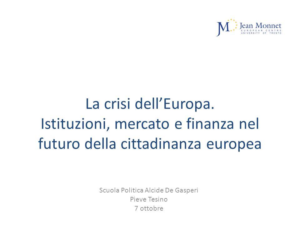 La crisi dellEuropa.