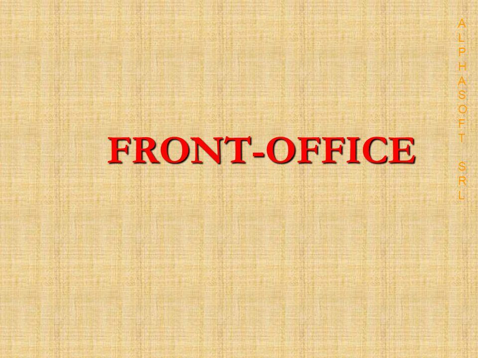 FRONT-OFFICE ALPHASOFT SRLALPHASOFT SRL