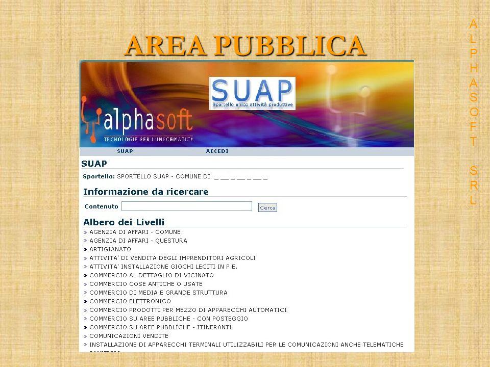 Accesso Back-Office ALPHASOFT SRLALPHASOFT SRL