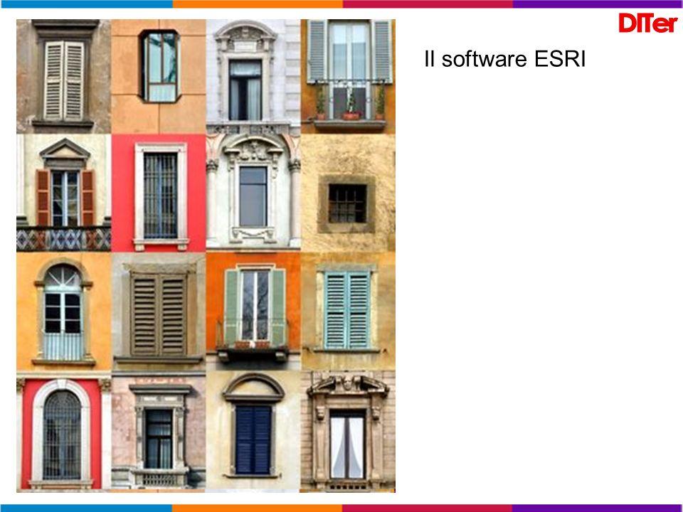 Il software ESRI