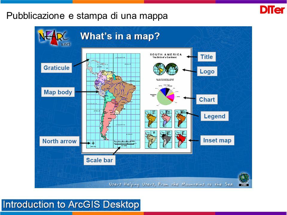 Pubblicazione e stampa di una mappa