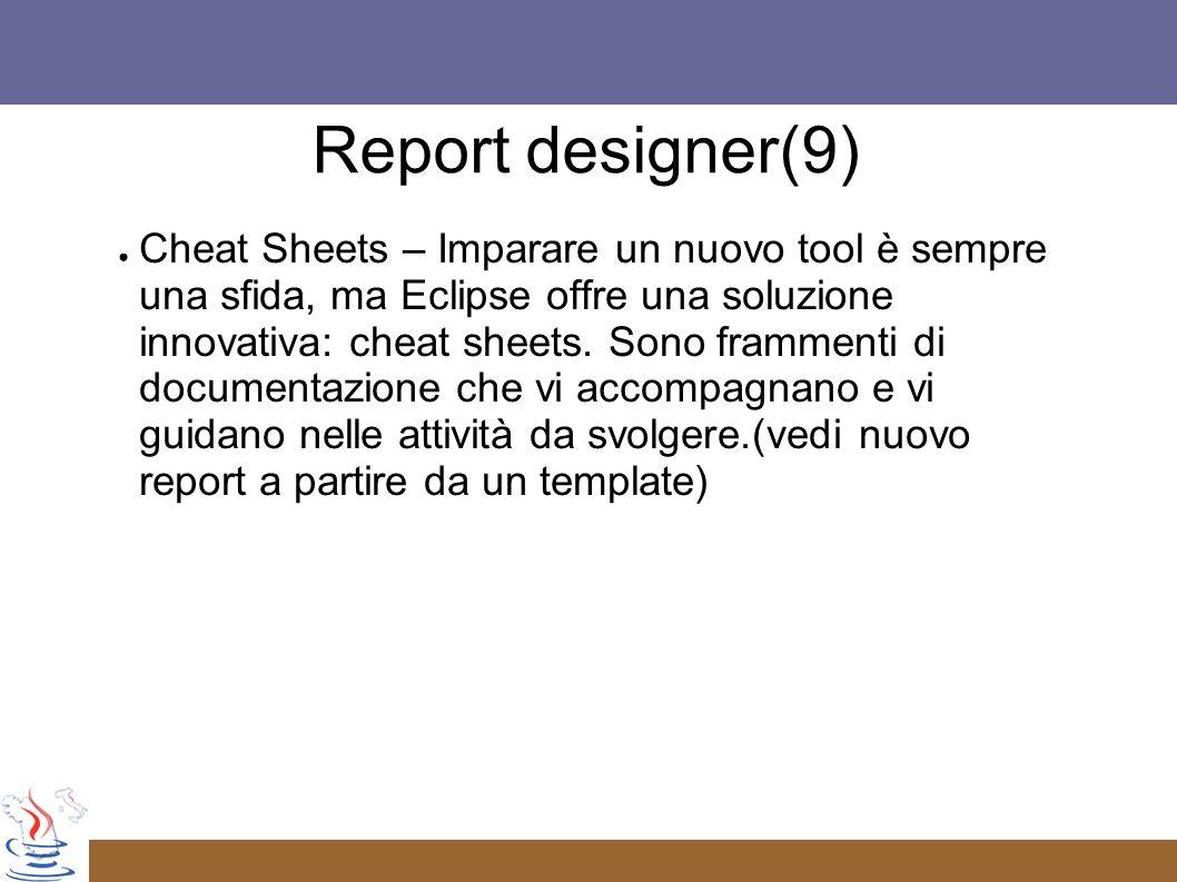 Cheat Sheets – Imparare un nuovo tool è sempre una sfida, ma Eclipse offre una soluzione innovativa: cheat sheets.
