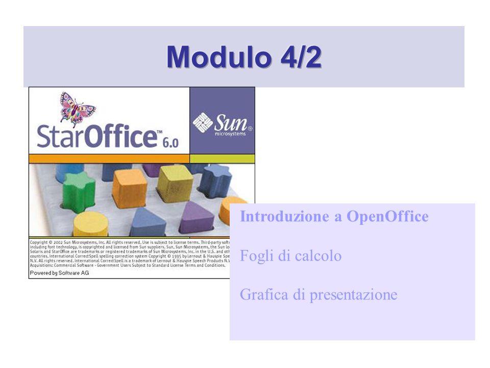 La lista dei formati supportati é veramente ricca e include sia i formati proprietari di OpenOffice che quelli di Excel.