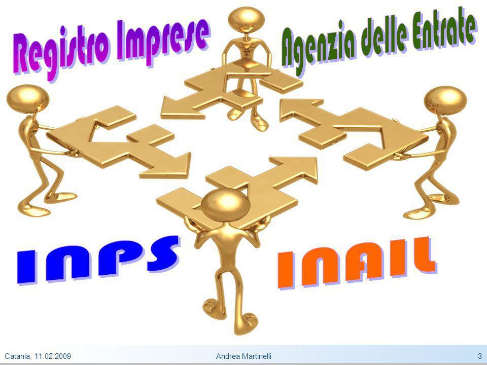 Catania, 11.02.2009Andrea Martinelli3