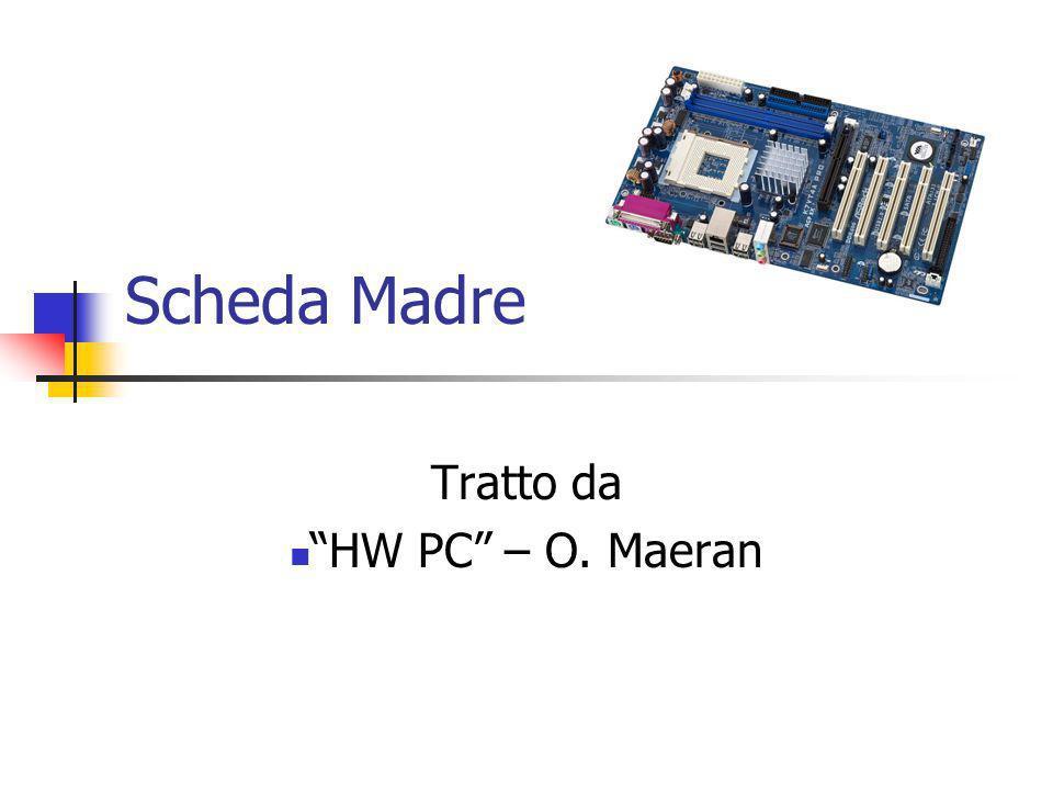 CHIPSET Una questione di velocità Nei moderni chipset è presente anche un moltiplicatore che, partendo dalla frequenza del bus delle memorie, permette di ottenere quella per il processore.